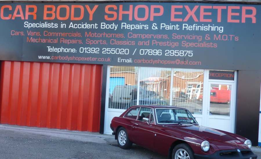 Car Body Repairs Exeter