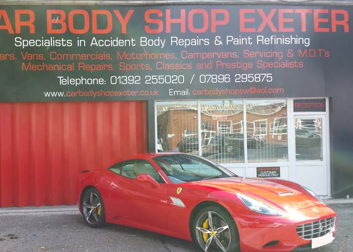 Car Body Shop Exeter